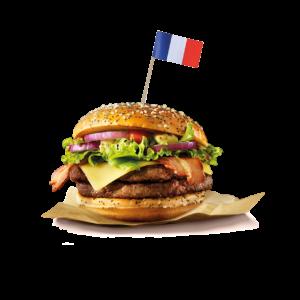 CATÉGORIE BURGERS À LA FRANÇAISE